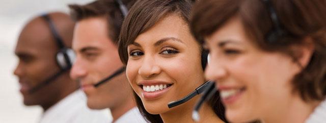 call center employees